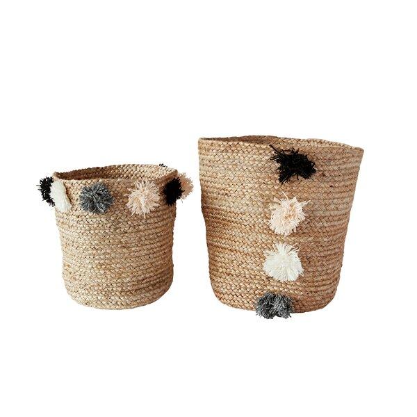 2 Piece Basket Set by Mistana