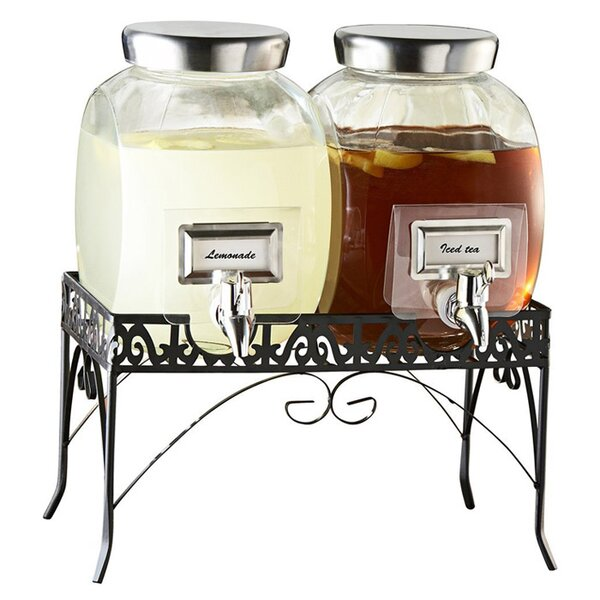 Haywood 3 Piece Beverage Dispenser Set by Darby Home Co