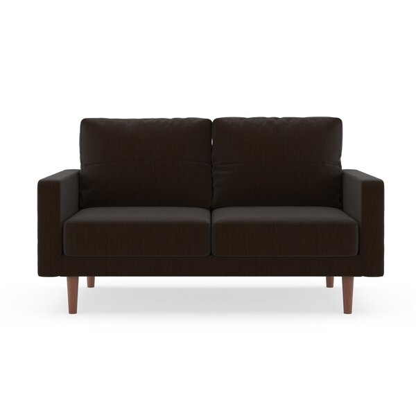 Schiffer Satin Weave Loveseat by Orren Ellis