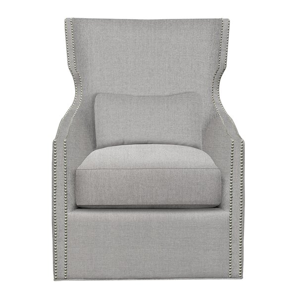 Corbin Swivel Wingback Chair by Duralee Furniture