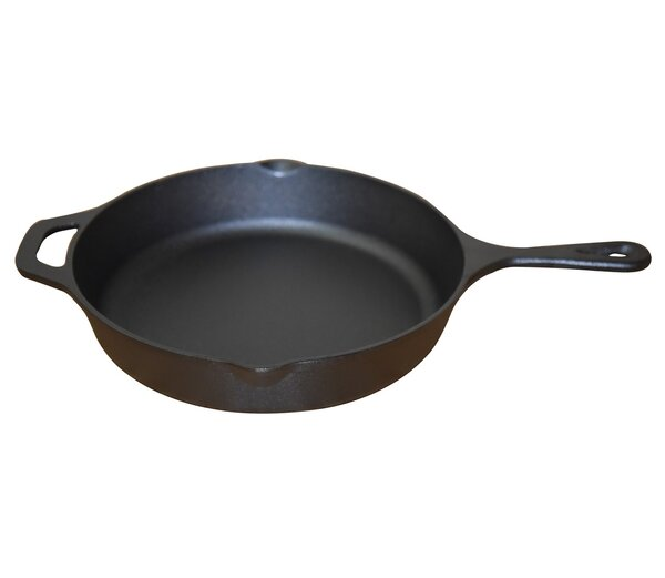 Pre-seasoned Cast Iron 10.25 Frying Pan by Wee's B