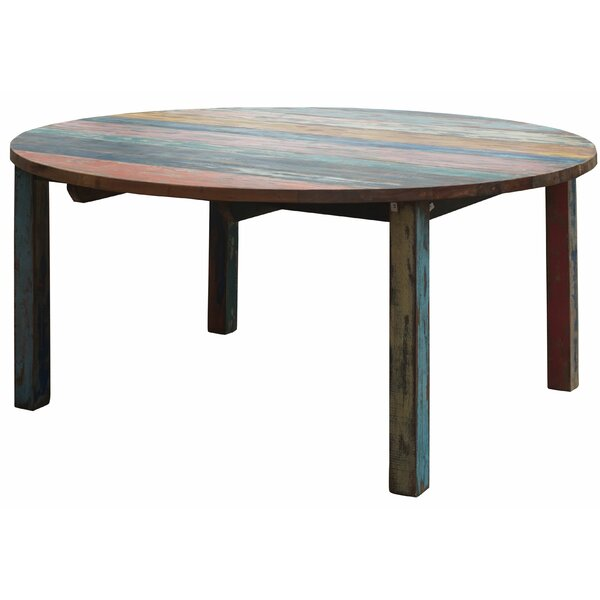 Eleni Solid Wood Dining Table by Loon Peak Loon Peak®