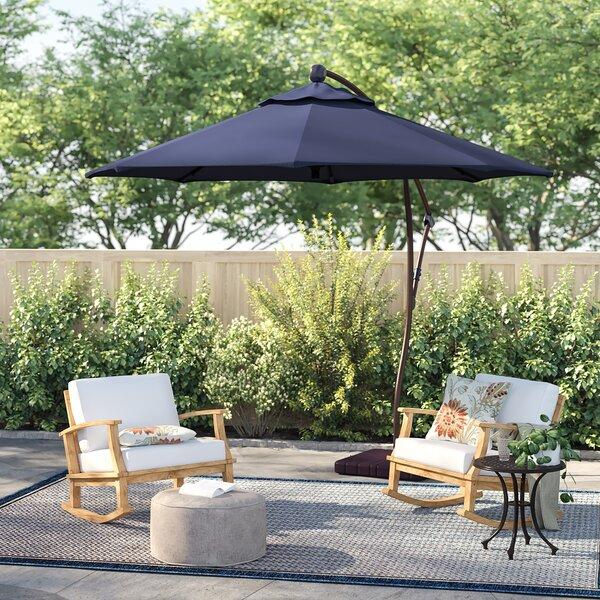 Capri 9' Cantilever Umbrella By Sol 72 Outdoor by Sol 72 Outdoor Read Reviews