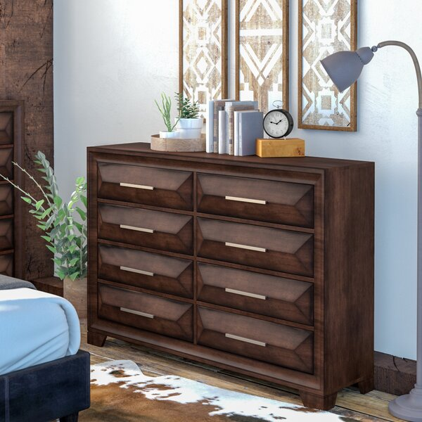 Pennington 8 Drawer Double Dresser by Union Rustic