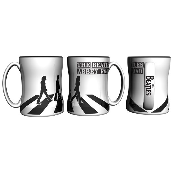 Beatles Abbey Road Sculpted Relief Mug by Boelter Brands