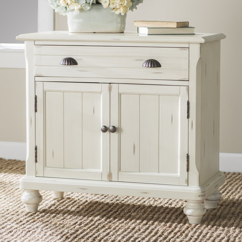 Ashland 2 Door Accent Cabinet - Come discover 50 Photos of Inspiring White Rooms With Rustic Vintage Charm!