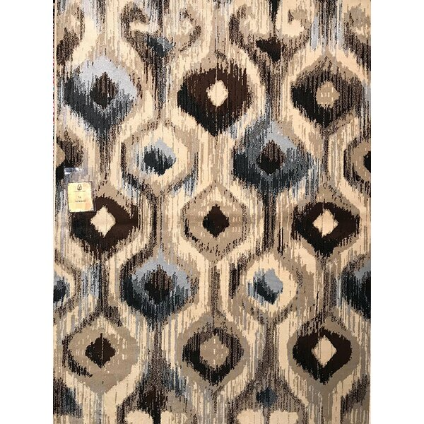 Spicer Gray/Beige Indoor/Outdoor Area Rug by World Menagerie