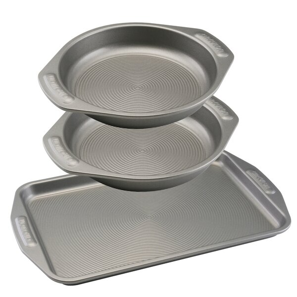 Non-Stick 3 Piece Cookie and Cake Set by Circulon