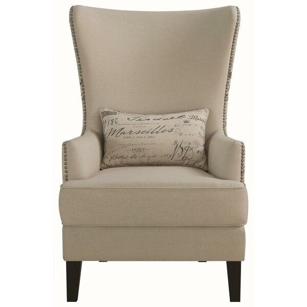 Philson Wingback Chair By One Allium Way Sale