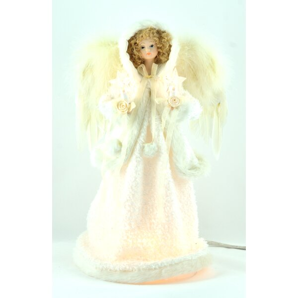 10 Light Angel Christmas Tree Topper by The Holiday Aisle