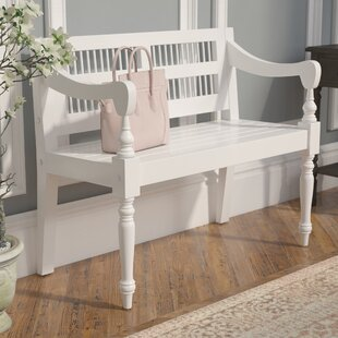 Online Reviews Poppy Wood Bench ByAugust Grove