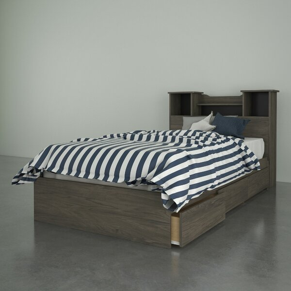 Kiruna Storage Platform Bed by Latitude Run