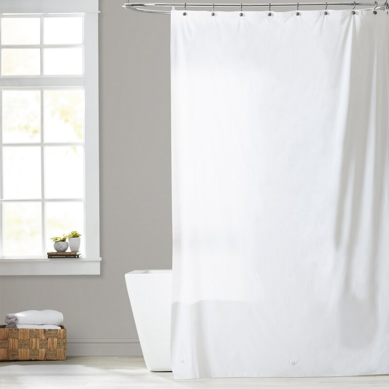 Utilitarian Heavy Duty Shower Curtain