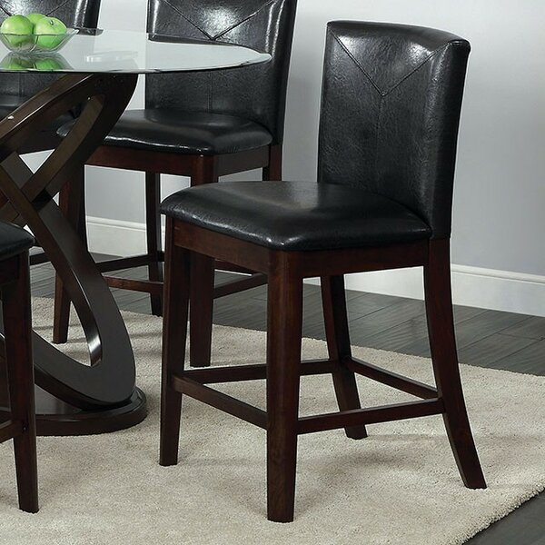 Colm Counter Height Upholstered Dining Chair (Set of 2) by Alcott Hill