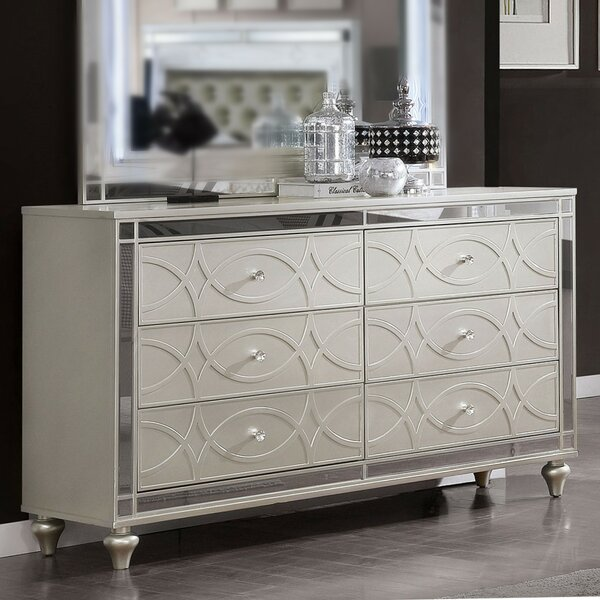 Westrick 6 Drawer Double Dresser by Rosdorf Park