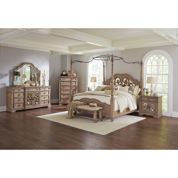 Best Design George Canopy Configurable Bedroom Set By One Allium Way Cheap