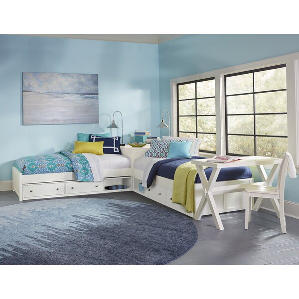 Granville Twin Platform L-Shaped Bed with Storage by Three Posts Baby & Kids