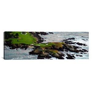 'Pebble Beach Golf Links, Pebble Beach, California' Photographic Print on Canvas by East Urban Home