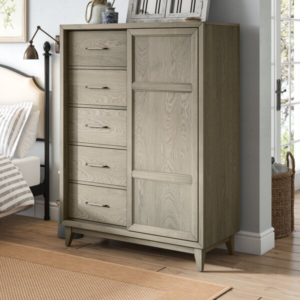 Karpinski 6 Drawer Chest by Three Posts
