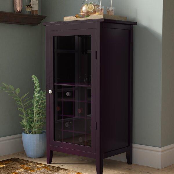 Scenic 16 Bottle Floor Wine Cabinet by Red Barrel Studio