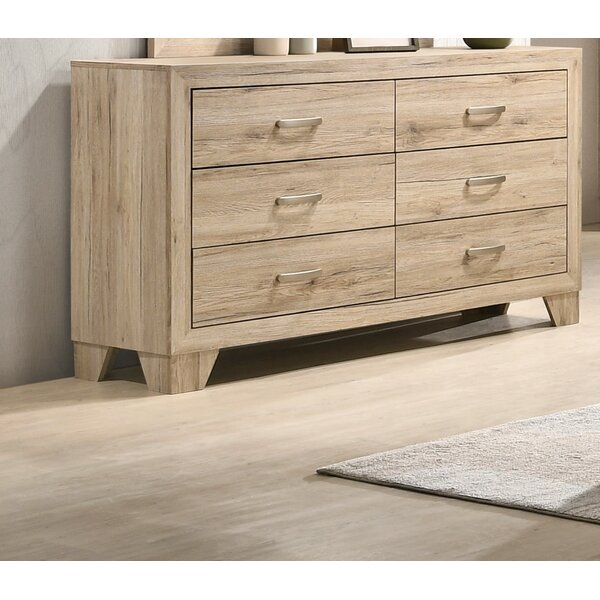Neo 6 Drawer Double Dresser by Millwood Pines