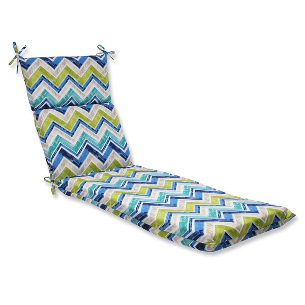 Marquesa Marine Indoor/Outdoor Chaise Lounge Cushion by Pillow Perfect