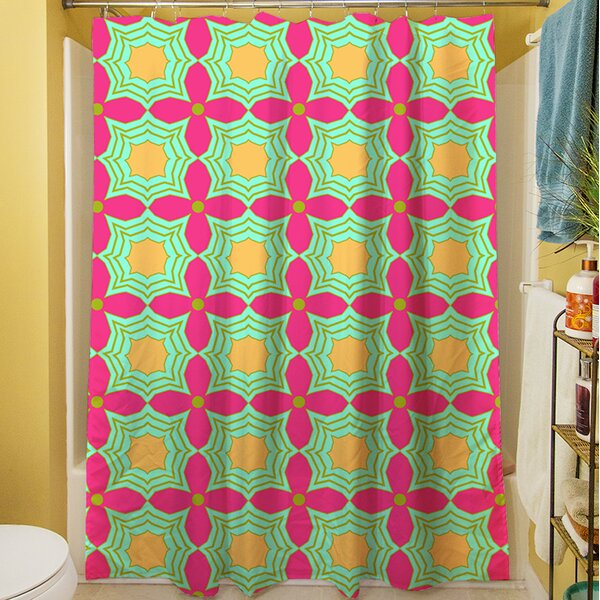 Anima Star II Shower Curtain by Manual Woodworkers & Weavers