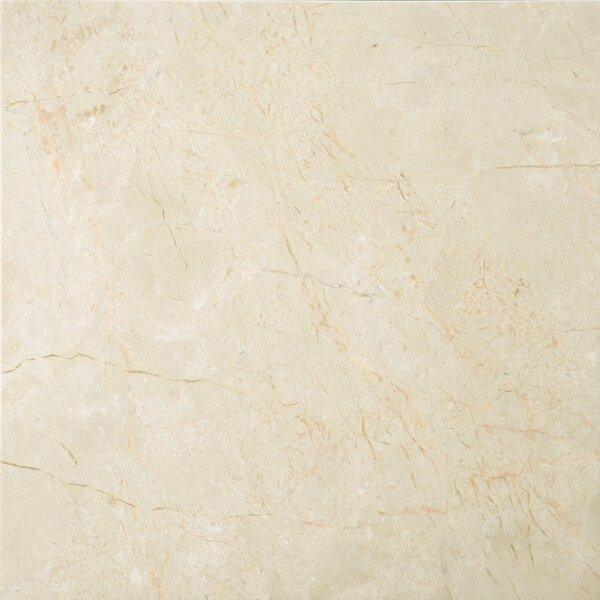 Marble 12 x 12 Field Tile in Crema Marfil Classico by Emser Tile