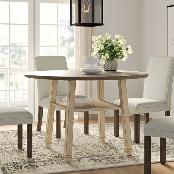Ramsgate Counter Height Drop Leaf Dining Table by Three Posts