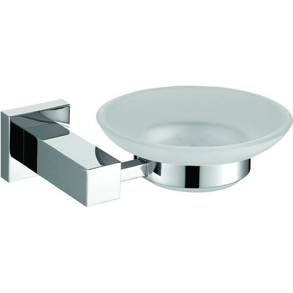 Solis Wall Mounted Glass Soap Dish by Orren Ellis