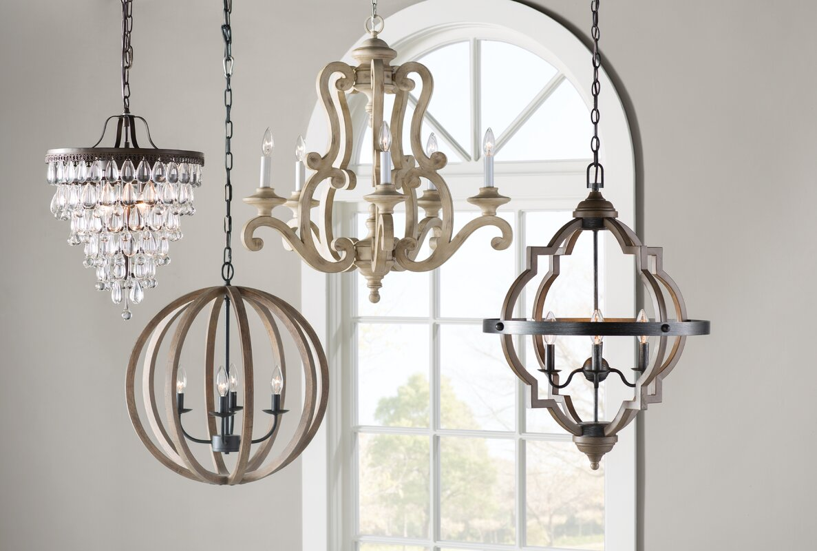 Brighton 5 Light Candle Style Chandelier Amp Reviews Birch