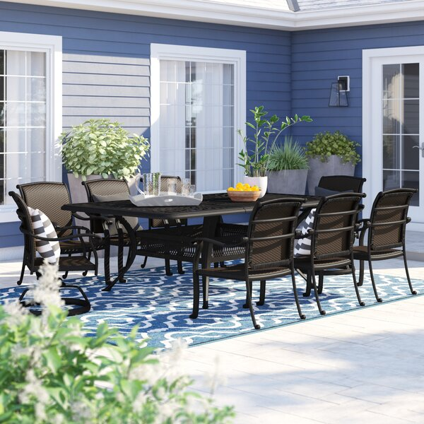 Harland 9 Piece Dining Set By Sol 72 Outdoor