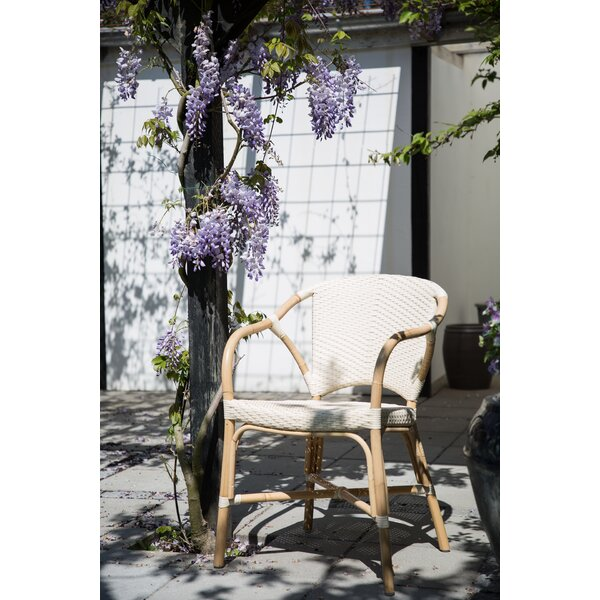 Valerie Rattan Patio Dining Chair by Sika Design