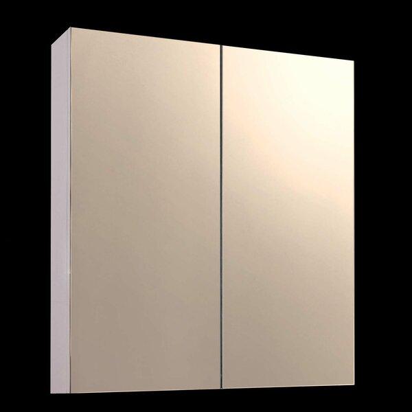 Jeff 24 x 30 Surface Mount Frameless Medicine Cabinet by Orren Ellis