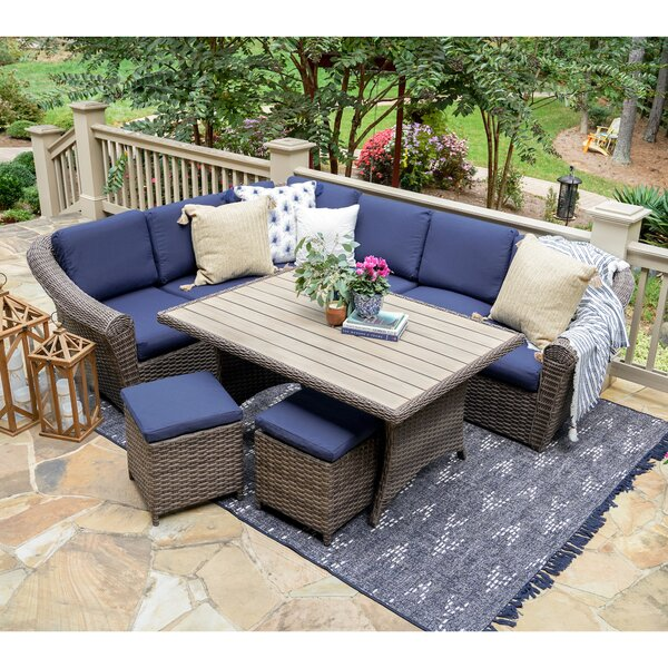 Anna 7-Piece Sofa Seating Group with Cushions by Bayou Breeze