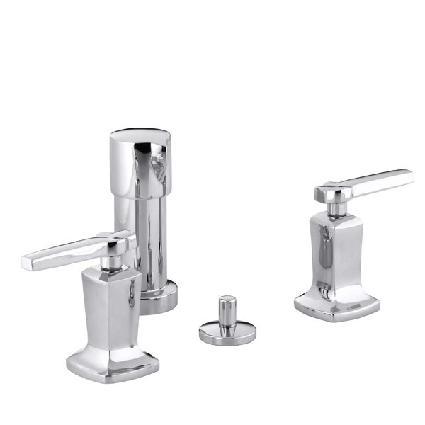 Margaux Vertical Spray Bidet Faucet with Lever Handles by Kohler