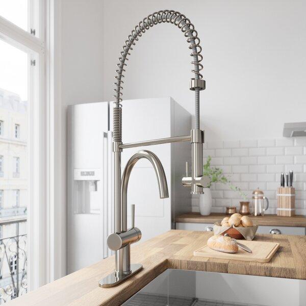Dresden Pull Down Single Handle Kitchen Faucet by VIGO VIGO