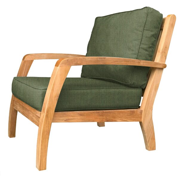Somerset Teak Patio Chair with Sunbrella Cushions by Douglas Nance