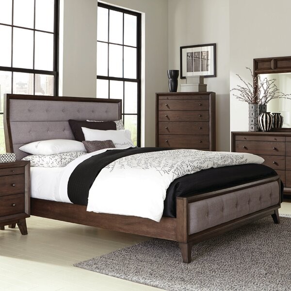 Zichichi Upholstered Standard Bed by Mercury Row