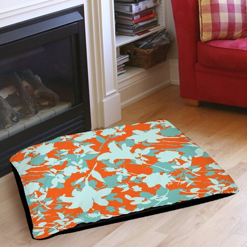 Chloe Floral 5 Indoor/Outdoor Pet Bed by Manual Woodworkers & Weavers