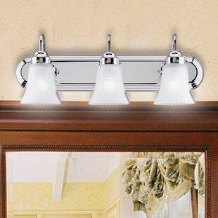 Affordable Price Sisson 3-Light Vanity Light By Charlton Home