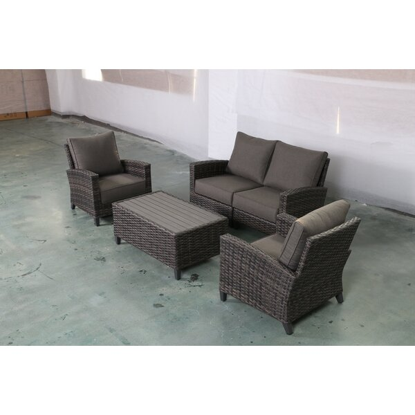 Rebeca 5 Peice Sofa Seating Group with Cushions by Bayou Breeze