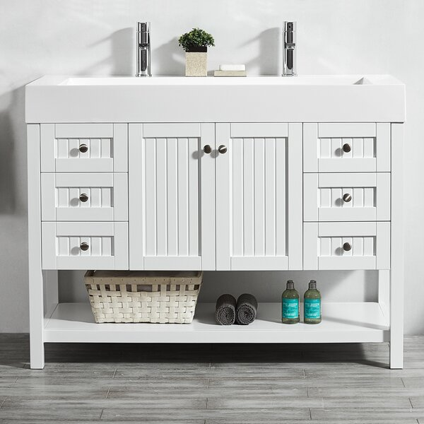 Harward 47 Single Bathroom Vanity Set by Highland