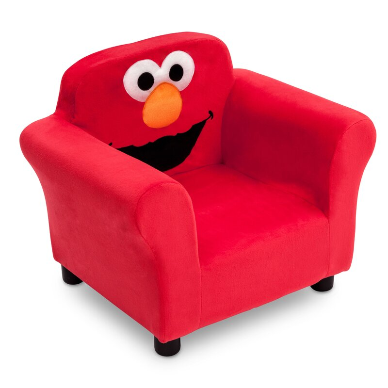 Exceptionnel Sesame Street Elmo Kids Upholstered Club Chair