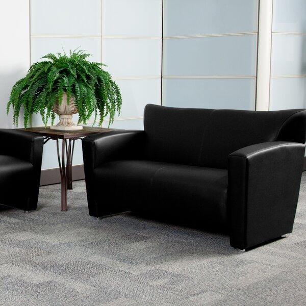 Hercules Majesty Series Leather Loveseat By Ebern Designs