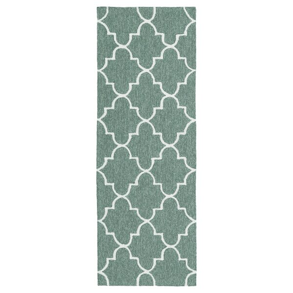 Cowan Hand-Tufted Mint Indoor/Outdoor Area Rug by Charlton Home
