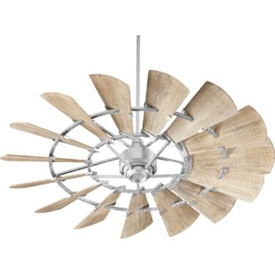 Top Reviews 60 Froid Windmill 15 Blade Ceiling Fan By Laurel Foundry Modern Farmhouse