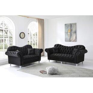 Crossen 2 Piece Standard Living Room Set by Rosdorf Park