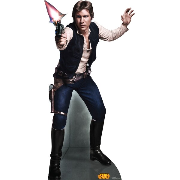 Star Wars Han Solo Cardboard Standup by Advanced Graphics