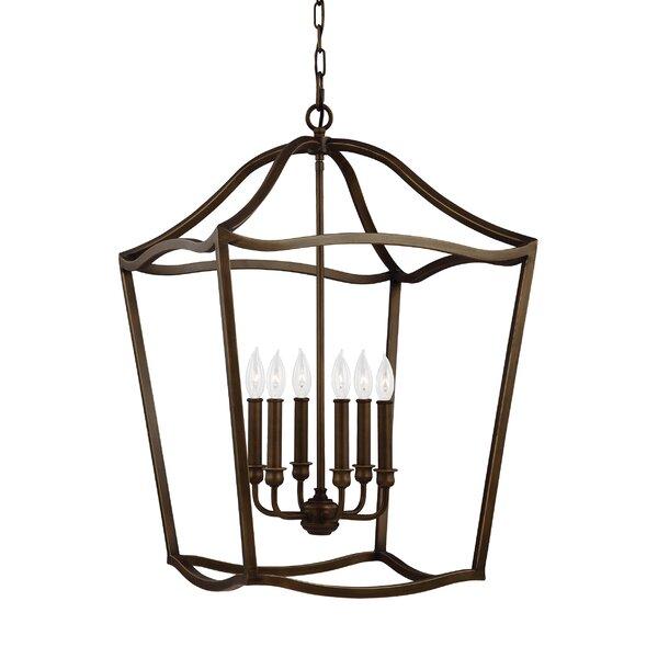 Nicoll 6 - Light Lantern Geometric Chandelier By Darby Home Co